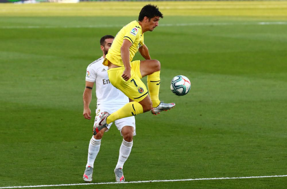 Laliga Santander: Real Madrid - Villarreal.