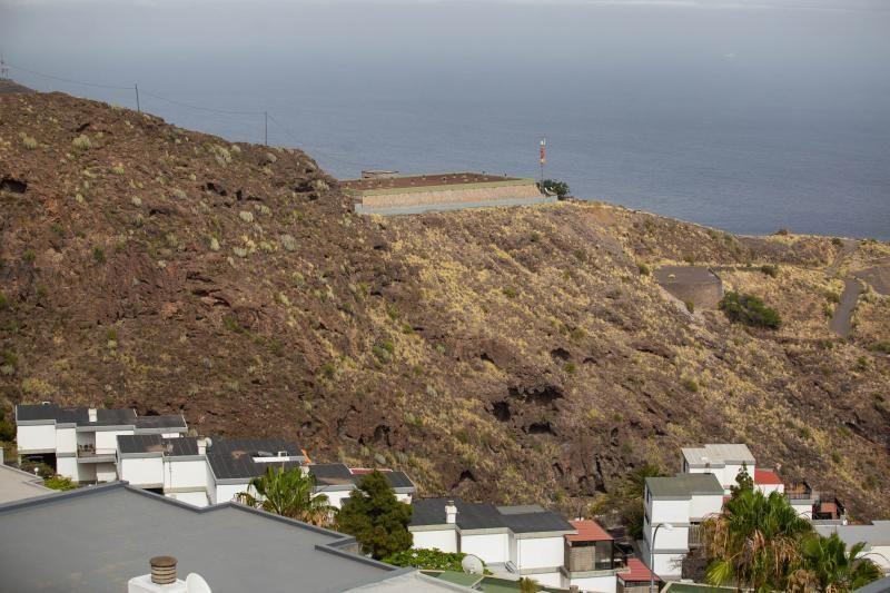 Depósito Las Mesetas, situado entre Ifara y Residencial Anaga