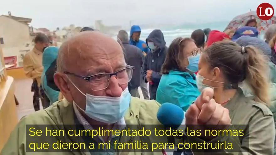 Paralizan el desalojo de la vivienda de un jubilado en Cabo de Palos
