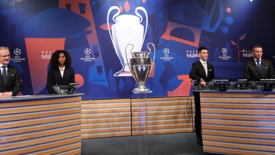 Real Madrid, Barça, Atlético y Sevilla conocen su primer camino en la Champions