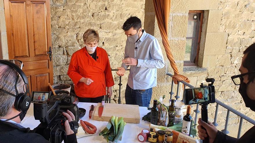 Tres video recetas para viajar por las Cinco Villas a través de su cocina