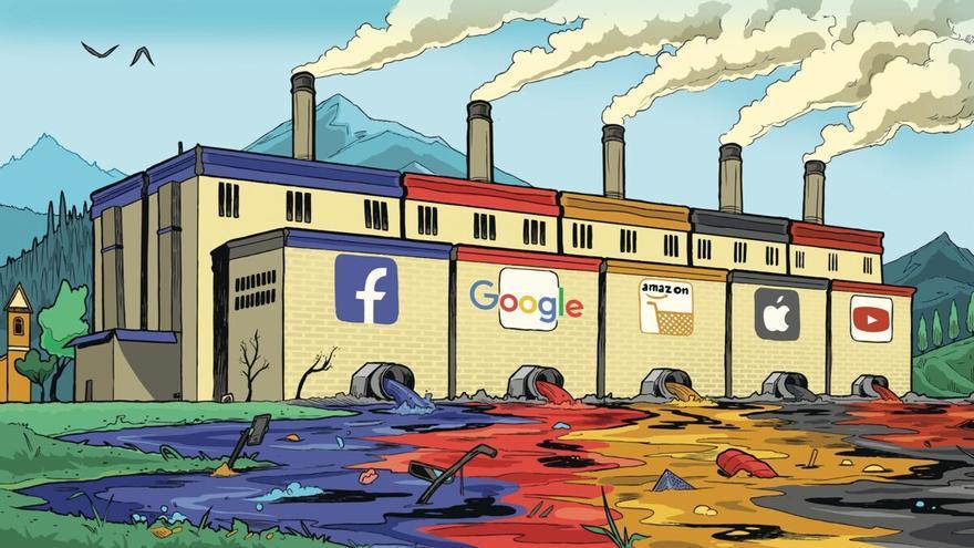 El tráfico de internet contamina tanto como la aviación
