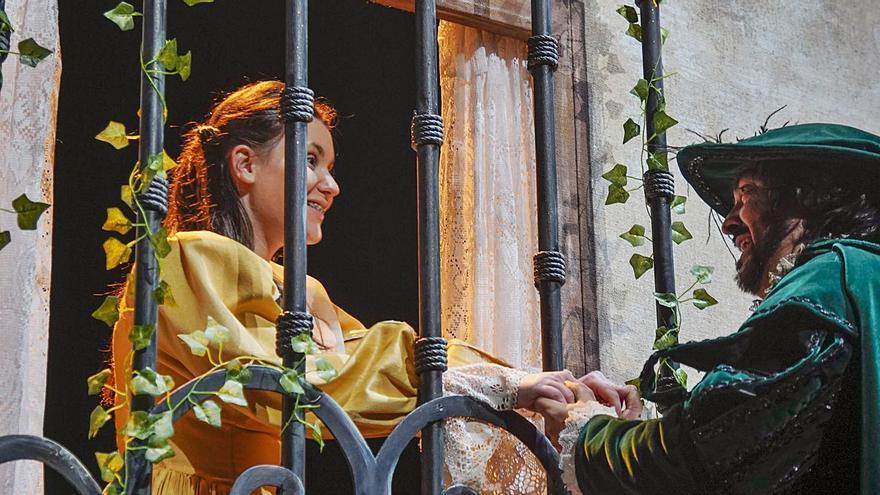 La Tijera apura los últimos ensayos de Don Juan Tenorio en el Ramos