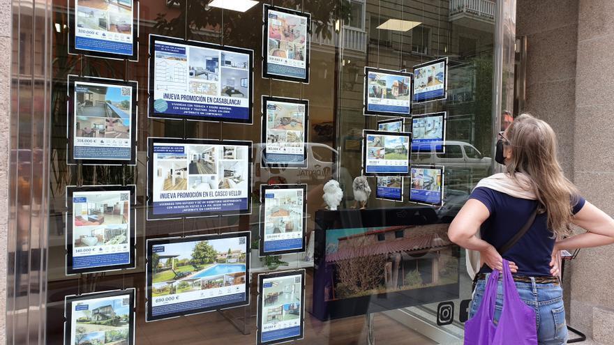 El precio de la vivienda de segunda mano en Galicia subió un 2,78% en julio frente al año pasado