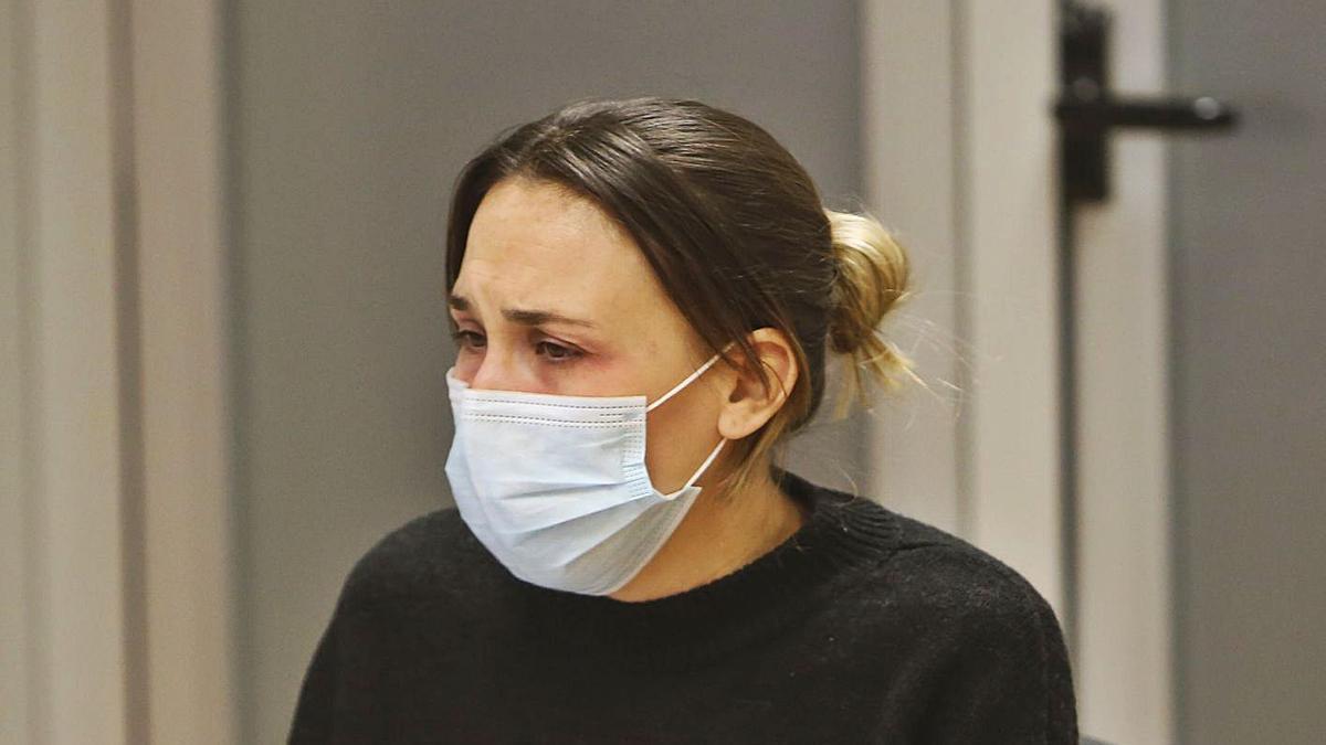 La condenada, durante el juicio celebrado en la Audiencia Provincial de Alicante.