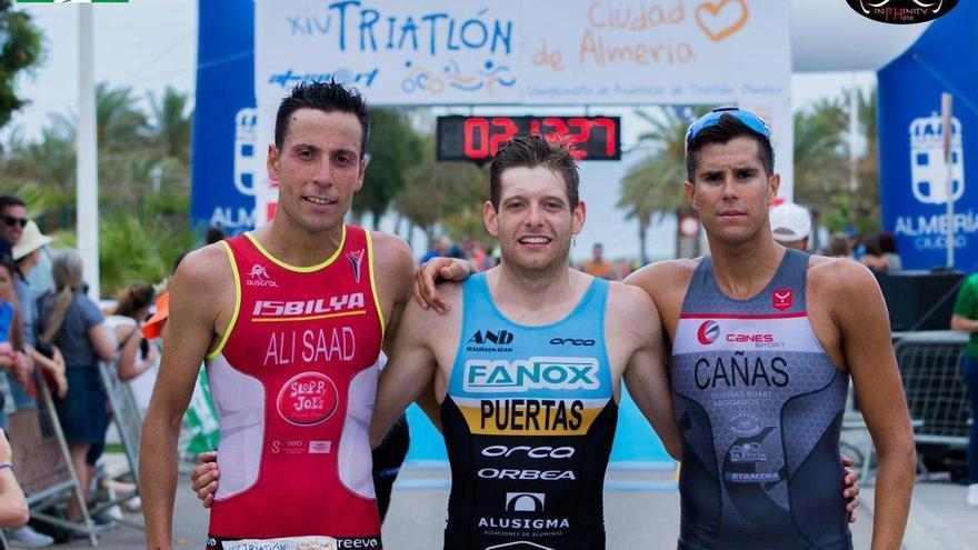 Camilo Puertas, campeón de Andalucía de Triatlón Olímpico