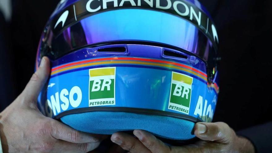 Asturias, base del nuevo casco de Fernando Alonso