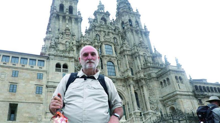 José Andrés completa su tercer Camino