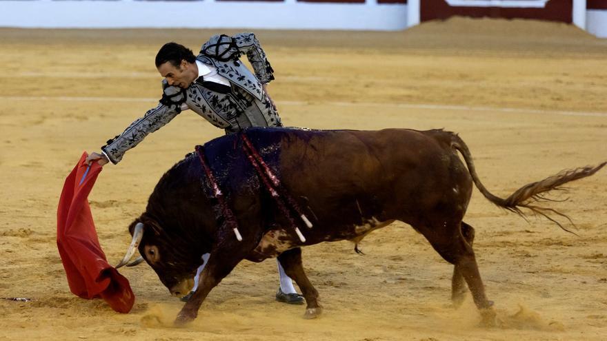 Finito de Córdoba se va de vacío de Antequera en una corrida marcada por unos toros sin casta