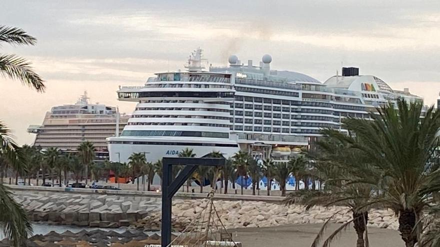 Málaga recibe esta semana seis nuevas escalas de cruceros