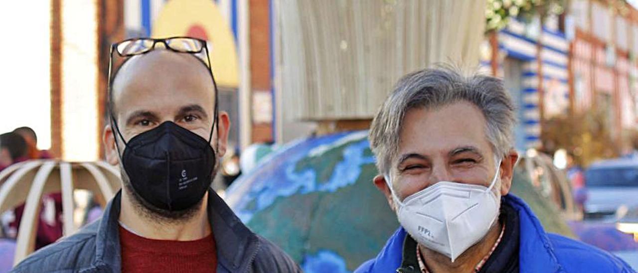 Vicente J. García Pastor y Paco Pellicer, los candidatos. | LEVANTE-EMV