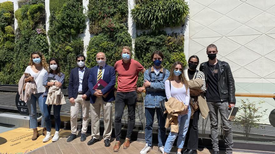 El alumnado de la Universidad Europea de València visita Bonaire