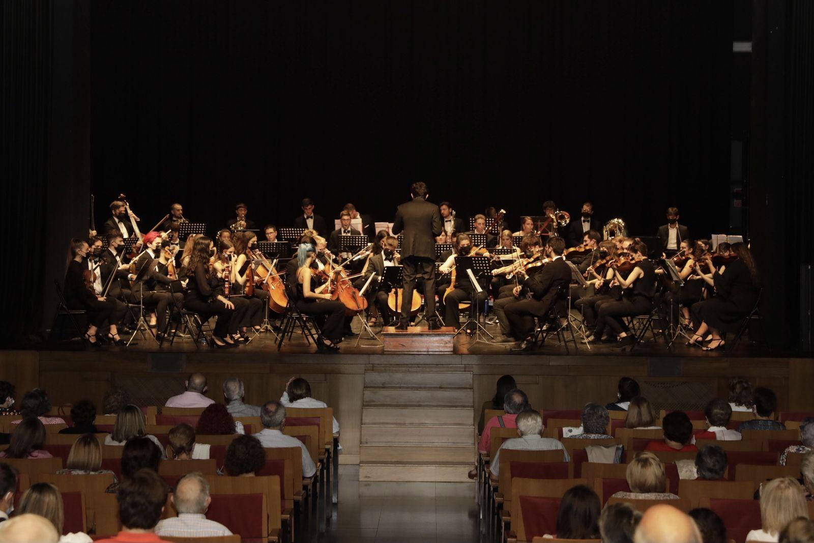 La Jove Orquesta Simfònica de Castelló fue el acto destacado de la celebración en Vila-real.
