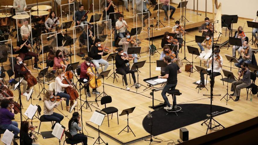 ADDA Simfònica inicia la grabación de su primer álbum con Warner Classics