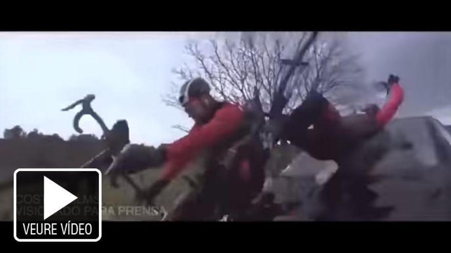 VÍDEO | Surt a la llum un brutal atropellament a Dani Rovira durant un rodatge