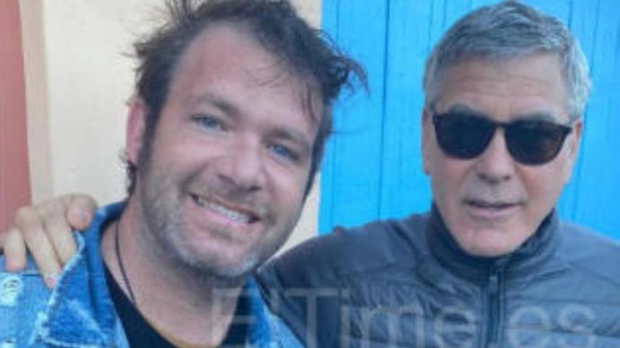 Clooney, uno más en La Palma