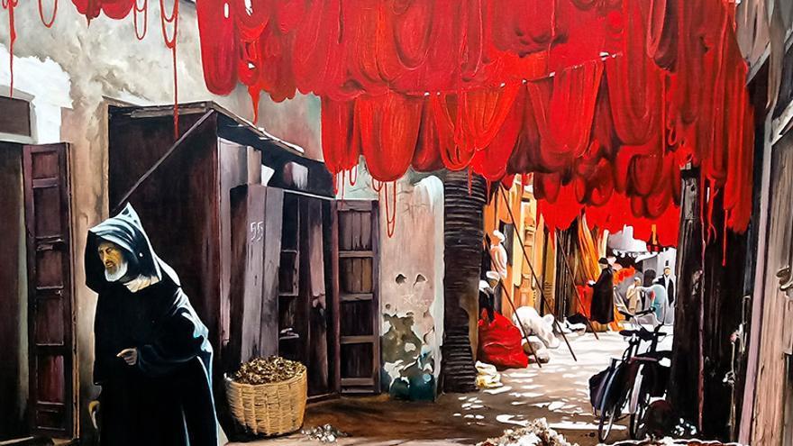 Fermín Ochoa - Exposición de pinturas