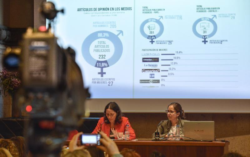 06/11/2018 LAS PALMAS DE GRAN CANARIA.  Presentación de la Asociación de Mujeres Canarias de la Comunicación 'Vivas'. FOTO: J. PÉREZ CURBELO  | 06/11/2018 | Fotógrafo: José Pérez Curbelo