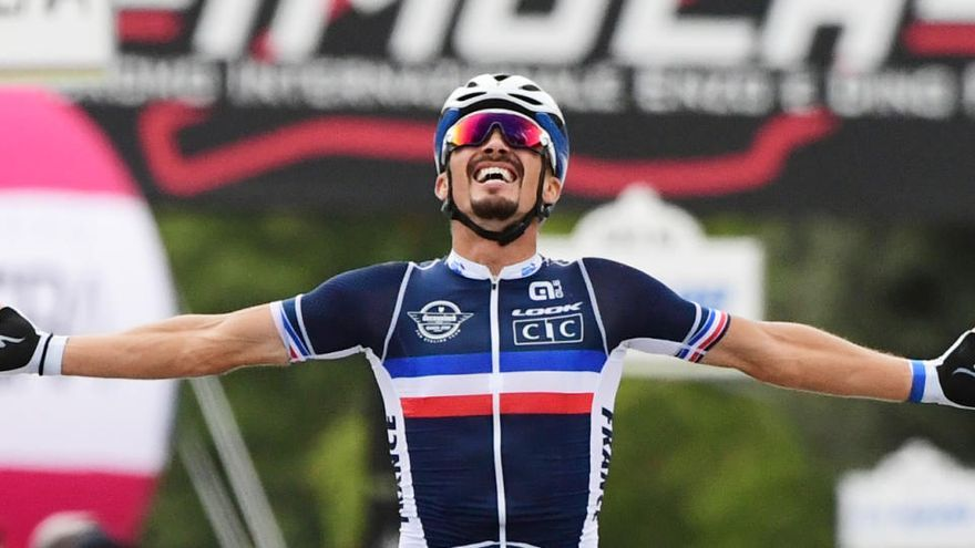 Julian Alaphilippe, campeón del mundo de ciclismo