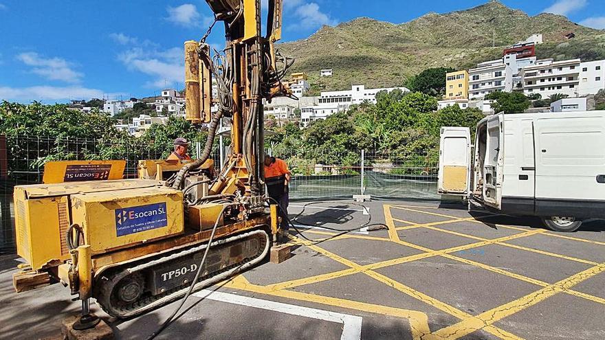 Emmasa construye la estación de tratamiento de aguas residuales en Igueste