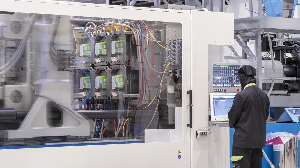 Producción de envases en la ibense ITC Packaging