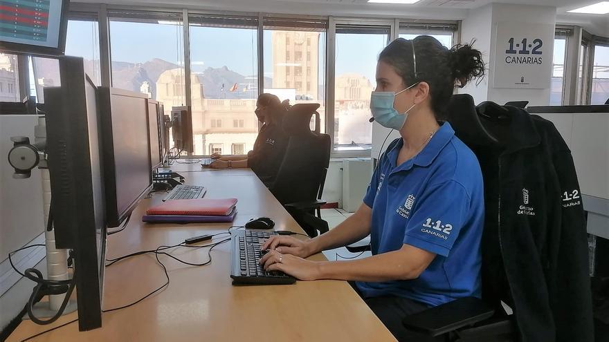 El servicio multilingüe del 112 Canarias atendió una media diaria de 900 llamadas mensuales en 2020