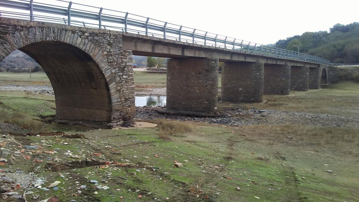 Puente de Vegalatrave que va a ser reparado