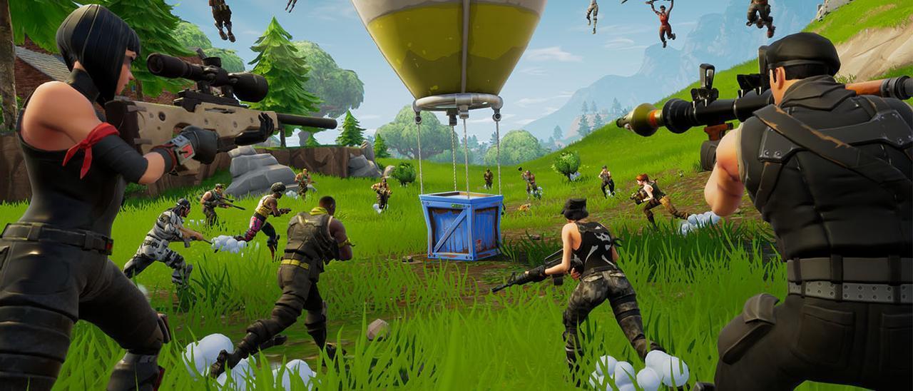 Imagen del videojuego Fortnite. / FdV