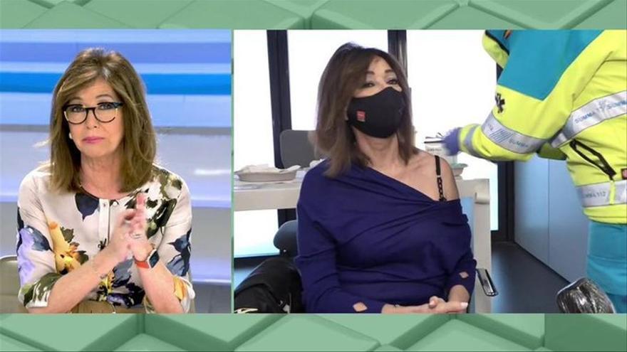 """Ana Rosa habla de los efectos secundarios tras vacunarse con AstraZeneca: """"Bicho malo nunca muere"""""""