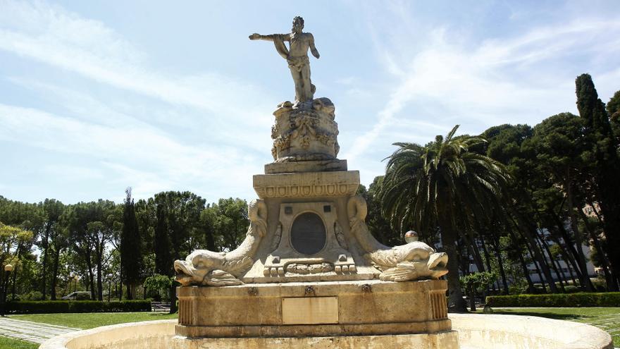 El Parque Grande: el cementerio de monumentos de Zaragoza