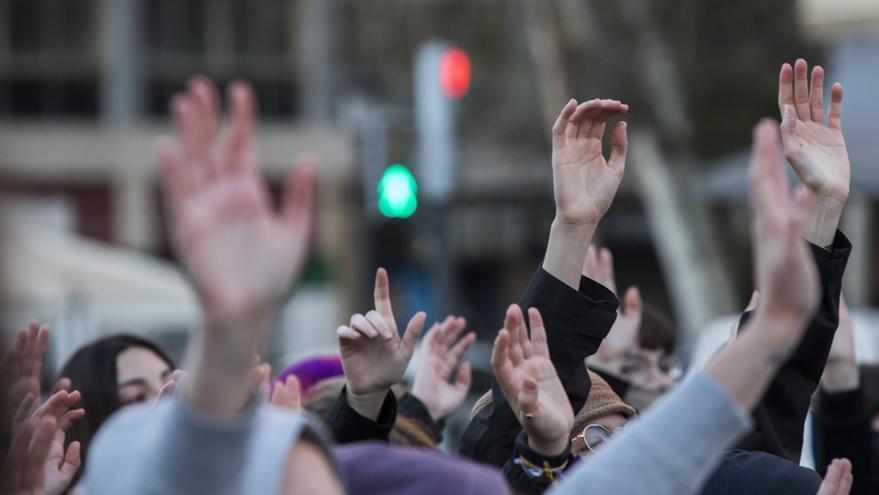 Anulan la resolución de Delegación que imponía sanciones a feministas por 8M