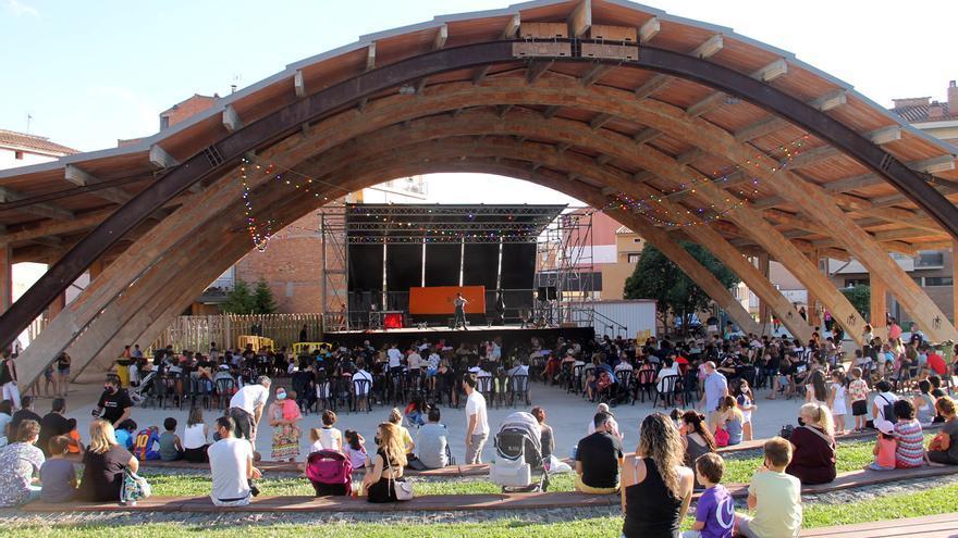 Sant Fruitós arrenca amb circ la festa major infantil