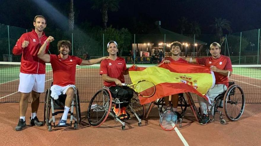 La España de Cisco García cae en la final de la Copa del Mundo de tenis en silla
