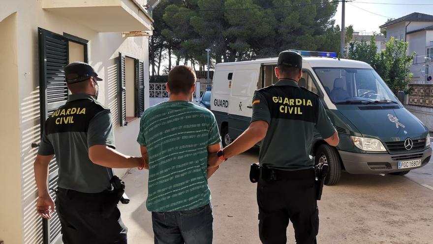 Detenido por herir a un hombre con un machete durante un atraco en Muro