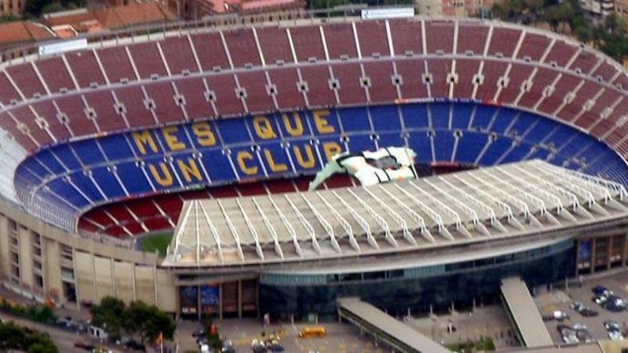 Registro policial en las oficinas azulgranas del Barça