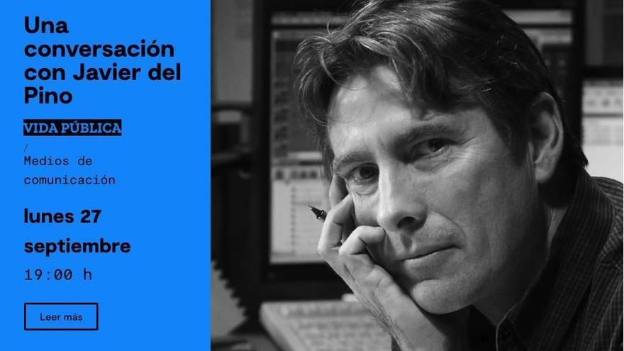Javier del Pino inaugura el programa de otoño del Centro Cultural de La Malagueta