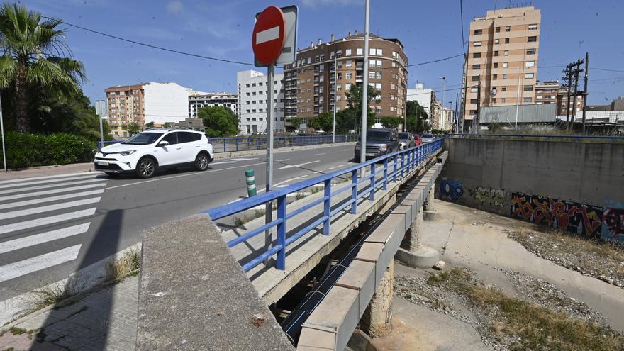 Las obras del barranco del Sol de Castelló optarán a fondos de la UE