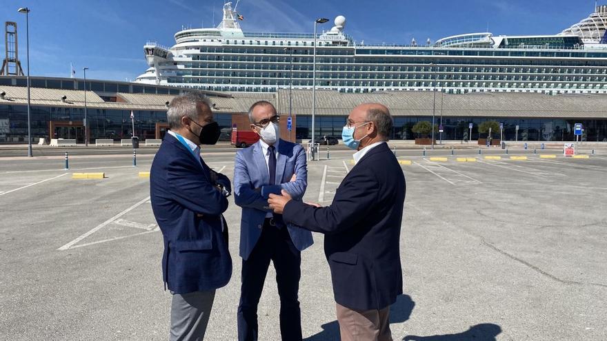 El presidente de Puertos del Estado destaca Málaga como el recinto con mayor crecimiento relativo