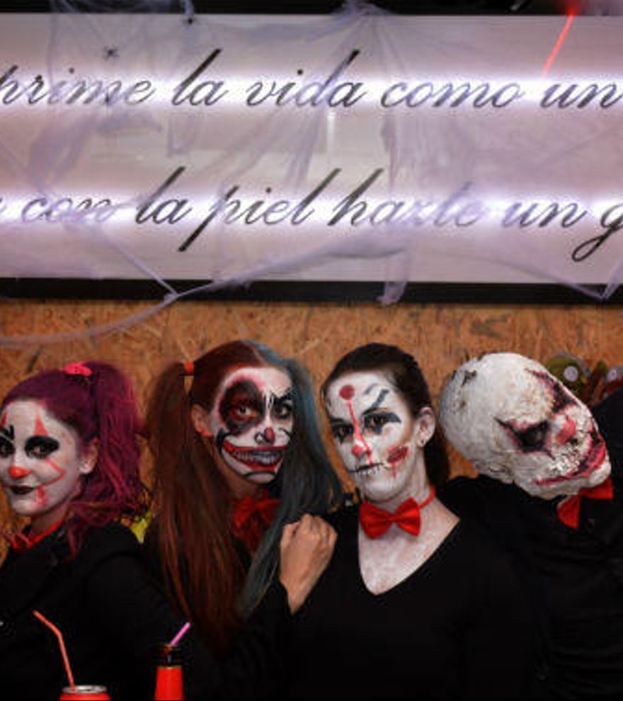 La noche más terrorífica de València se vivió en Jorquiria Lounge