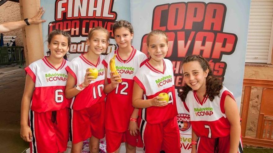 La VII Copa Covap alcanza a 25.000 niños y 50.000 familiares