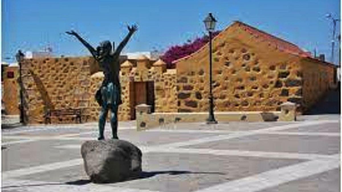 El inmueble del centro de Igualdad, sito en Orilla Baja, en el municipio de Santa Lucía de Tirajana. | | LP/DLP