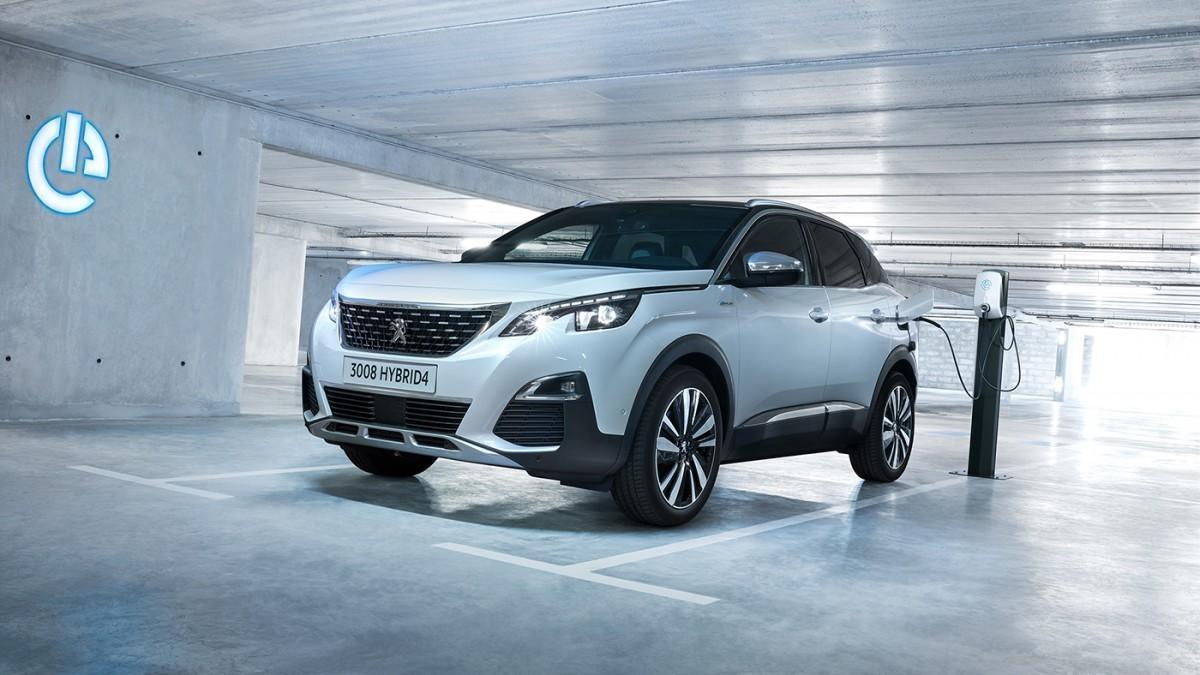 Peugeot ofrece el 3008 híbrido enchufable con tracción delantera o total