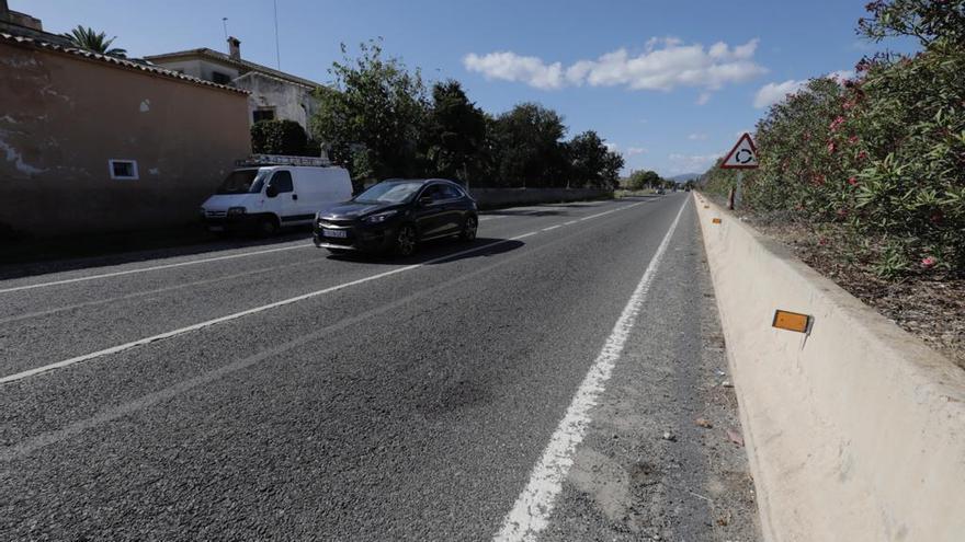 Muere un hombre en la carretera de Manacor tras ser atropellado por un coche que se dio a la fuga