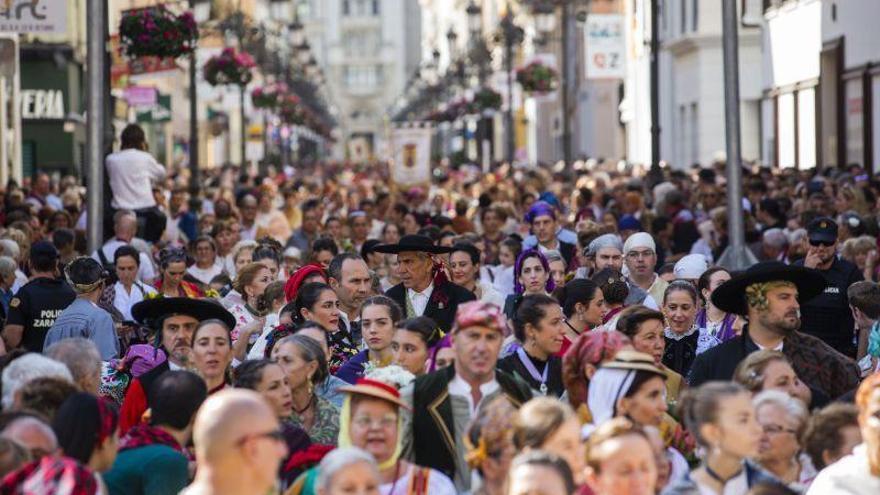 Zaragoza ya diseña la celebración de la Ofrenda de Flores