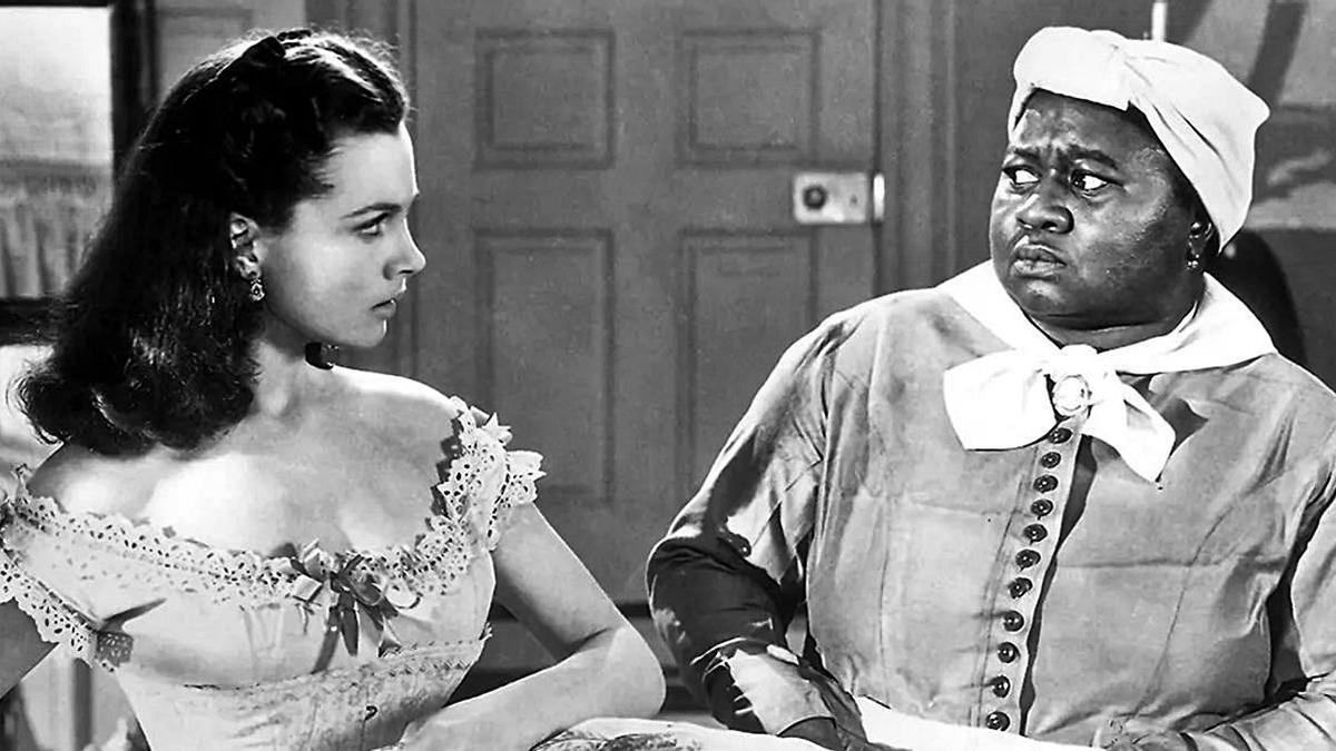 Escena de la película 'Lo que el viento se llevó' (1939).