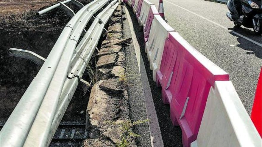 Un experto halla deficiencias en el sistema de contención del puente de La Hiniesta