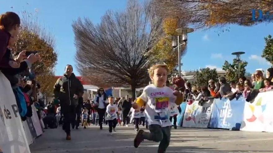 Riesige Nachfrage bei Kinder-Königslauf in Palma de Mallorca