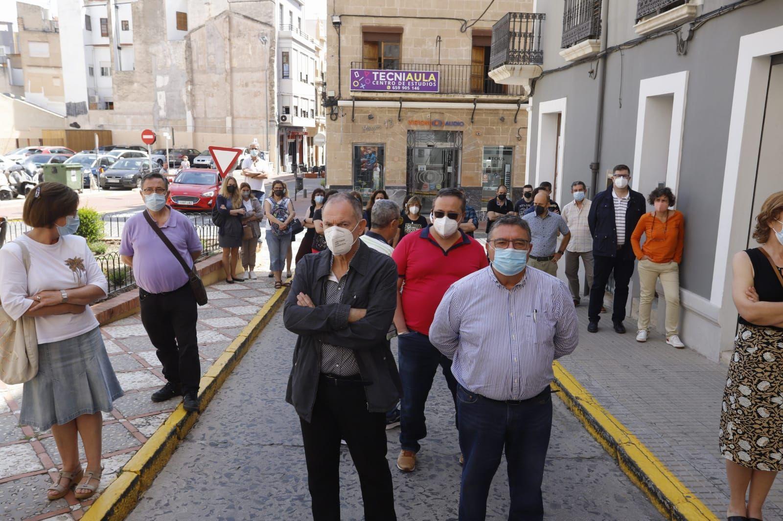 Oliva despide a su Premio Cervantes Francisco Brines