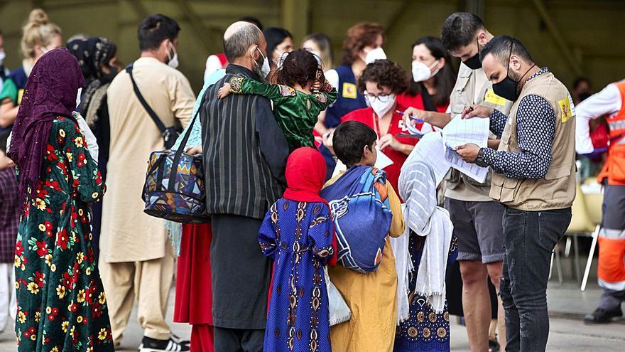 El 75% de las plazas para refugiados están ocupadas tras el exilio afgano