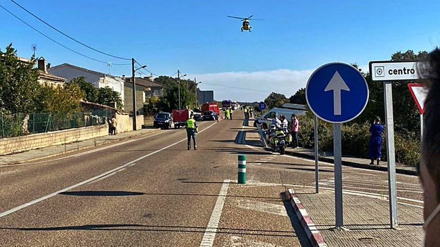 La N-122 suma este otoño un total de seis accidentes con un fallecido y tres heridos
